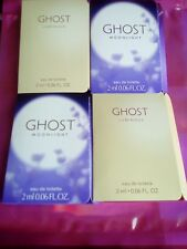 MIXED GHOST GIFT BAG 4 X 2 ML EDT AUTHENTIC SAMPLES IN PINK VERSACE BAG