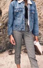 New! Brandy Melville black/white gingham high rise Sierra pants NWT sz S