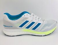 Adidas Women's Adizero Boston 7 Running Shoes Size 8M Boost Gray Blue NEW B37385
