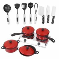 Kitchenware Cookware Set for Dolls House Miniature Home Kitchen Accessory M N6P3