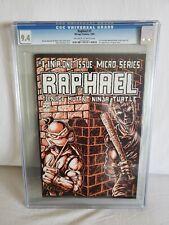 Raphael #1 CGC NM 9.4 Off White to White