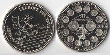 Médaille en Nickel 50 ans du francs  ( trésor du Patrimoine - 031 )