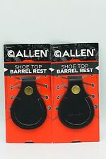 2x Allen Leather Shoe Top Barrel Rest (For Use At Trap & Skeet Range) *New*