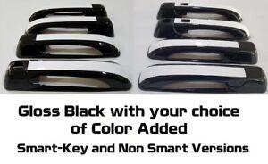 Custom Gloss Black Door Handle Overlays 2010-2018 Dodge Ram 3500 YOU PICK COLOR