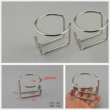 2 Pcs Car Off-Road Apartment 304 Stainless Steel Ring Cup Drink Holders Support