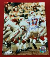 """Jim Hart St Louis Cardinals REAL HAND SIGNED 8x10 Photo Personalized """"To Andrew"""""""
