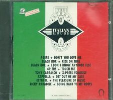 The Story Of Italian House Vol. 1 - 49Ers/Black Box/Cappella/D.J. Pierre Cd Vg