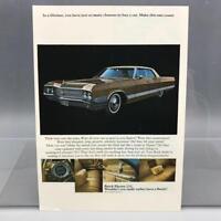 Vintage Magazine Ad Print Design Advertising Buick Electra Automobiles