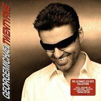 George Michael Twenty Five  2 CD Hits Faith Freedom 90 Last Christmas Fastlove