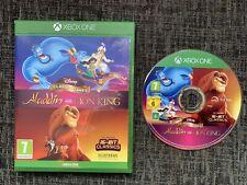 Disney Clásicos Juegos Aladdin Y El Rey León Xbox One Juego