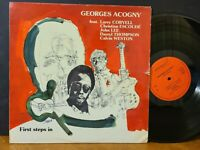 GEORGES ACOGNY - FIRST STEPS IN LP Fusion! Larry Coryell John Lee Calvin Weston