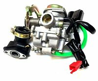 PERFORMANCE 20MM CARBURETOR & INTAKE MANIFOLD BOOT GY6 50CC SCOOTER MOPED CARB