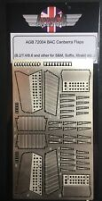 1/72 AGB -British Electric Canberra B.2/T.4 (Flaps)-Detailing PE metal set