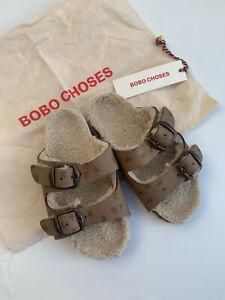 New Bobo Choses Sandals Kid Baby Toddler Size 26 27  UK 8.5 / 9 unisex boy girl