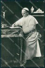 Vaticano Papa Pio XI Foto cartolina QT5119