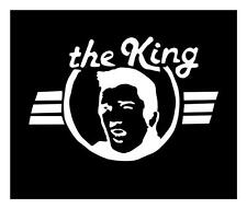 "ELVIS PRESLEY ""THE KING"" 5X7 JAMES DEAN MARILYN VINYL CAR WINDOW DECAL STICKER"