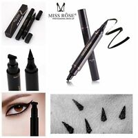 Winged Eyeliner Stamp Waterproof Makeup Cosmetic Eye Liner Pencil Liquid BT US