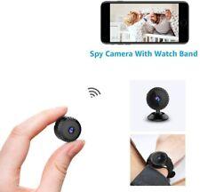 Mini Spy Camera WiFi Discreet Cam With Watch Strap Wireless HD 1080P  with App