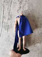 "1:6 Figure Accessory Blue ancient soldier Cloak Cape For 12"" Male & Female Doll"