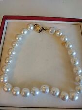 18 INCH STRAND OF Majorca large baroque PEARLS