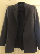 Emporio Armani Ladies Suit Jacket Grey EU36