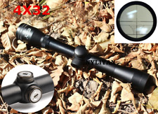 Compact 4X32 Rangefinder Telescopic Scope Sight Rifle Scope&20mm Rail Mounts