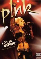 P!NK - PINK: LIVE IN EUROPE  DVD  27 TRACKS  INTERNATIONAL POP  NEW+