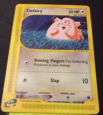 Pokemon Cards - Clefairy #101/165 Expedition Base Set [NM+] (2002)