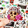 50 Skull Rock Stickerbomb flower love Retrostickern Aufkleber Sticker Mix Decals