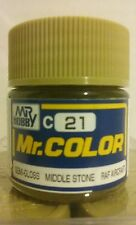 "Gunze Sangyo ""Mr Color"" acrylic paint C-21 Middle Stone 10ml"