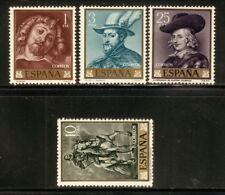 Spain--#1111-14 MNH--1962 Paintings of Paul Peter Rubens