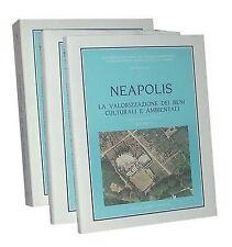 Neapolis Vol 1,2,3 Progetto sistema per la valorizzazione integrale delle risors
