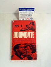 BILL COSBY SHOW SIGNED AUTOGRAPH I SPY #6 DOOMDATE BOOK PSA/DNA COA #M83526