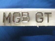 NUOVO MG MGB GT Badge Lettera Set Scheletro OD24 ***