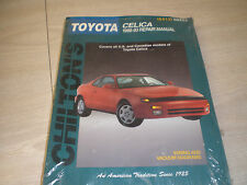1986-1993 TOYOTA CELICA SHOP SERVICE REPAIR CHILTON MANUAL