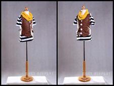 Children Hard Foam Form Mannequin Dress Form Hard Foam 6-8T #JF-C6/8T