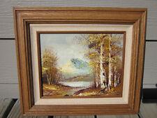 Beautiful original painting of California's Mount Shasta by G. Rilntman
