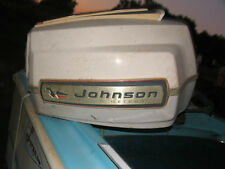 Johnson Super Sea Horse 90 hp Shroud Motor Hood Vintage