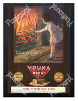 Historic Youma Bread, 1900s. Advertising Postcard