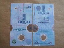 NORTHERN  BANK  £5  NOTE  POLMER, 2000, Y2K  PREFIX, UNCIRCULATED