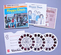 Vintage 1974 GAF View-Master | Showtime HAPPY DAYS 3-Reel Set | Free Shipping !