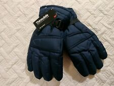 Men's Thinsulate 3M Fleeced Lined Water Resistant Winter Snow Gloves