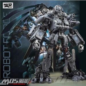 2019 Transformer WJ BLACKOUT M05 Hide Shadow Oversized SS08 Figure In Box