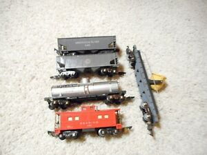 S SCALE AMERICAN FLYER FIVE CAR GROUP LINK COUPLERS