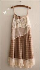 Robe tunique volant dentelle Mori ancien vintage shabby chic boheme Japon Cawaii