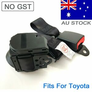 For Toyota 3-Points Universal Safety Seat Belt Seatbelt Strap Kit Top Retractor
