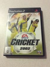 Cricket 2002 Sony PlayStation 2 Console Game PAL PS2