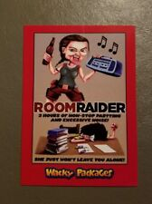 Room Raider 02/10 Red Parallel 2018 Topps Wacky Packages Go to the Movies