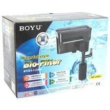 BOYU Hang On Back Filter   Waterfall Style   WF-2045   500 L/H