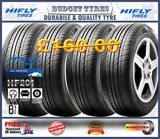 4 x 205/60R16 92H HIFLY-HF201 GOOD QUALITY TYRE.2056016 LOW PRICE BUDGET 4 TYRES